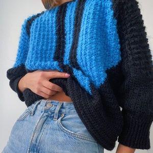 Vintage Bat Wing Sweater